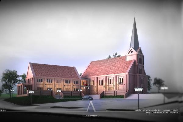 Kościół w Lusówku